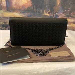 Authentic Bottega Veneta Napa Leather Wallet